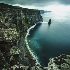 Cliffs of Moher, Burren Region, County Clare, Ireland. Photography by © Tanner Wendell