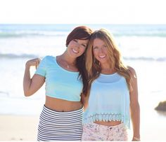Liz and Sara -The Super Sisters:: These two cuties can give you double motivation! They know how to get rid of belly fat & tone the whole body.  Follow them and you'll be super fit, super healthy and super sexy. Instagram Girls, Crop Tops, Tank Tops, How To Get Rid, Lose Belly Fat, Jennifer Lopez, Body, Fitspo, Fitness Motivation