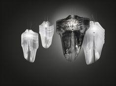 Avia & Aria Lamp for Slamp / Zaha Hadid #milandesignweek2013