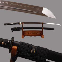 Anuman Folded Clay Tempered Steel Katana Samurai Sword