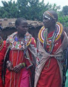 Garb and Rituals (Masai Mara)