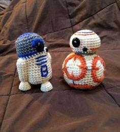 BB8 Star Wars inspirierte Droid Crochet Muster PDF von luvbug026