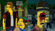 The Walking Dead: el apocalipsis zombie invade Springfield | Fotos ...