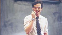 Pin for Later: 22 Hot Onscreen Teachers That Will Make You Want to Go Back to School Ezra Fitz, Pretty Little Liars