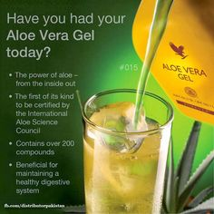 Reasons to drink Aloe Vera daily!  Order online @  www.myflpbiz.com/forever4uinsideandout