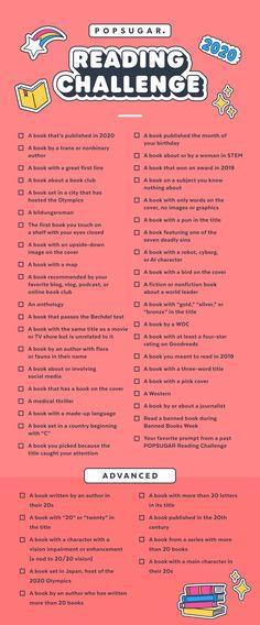 Find a Cozy Nook, Book-Lovers — the 2020 POPSUGAR Reading Challenge Is Here! Find a Cozy Nook, Book-Lovers — the 2020 POPSUGAR Reading Challenge Is Here! Stem Challenge, Book Challenge, Reading Challenge, Challenge Ideas, Book Club Books, Book Lists, Books To Read, Book Club Names, Zane Books