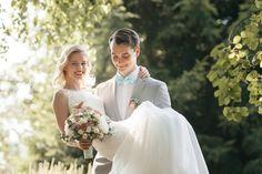 Романтические свадебные фотографии.