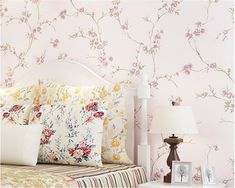 beibehang Pastoral small fresh nonwoven 3d wallpaper warm romantic girl bedroom princess room stereo relief wall paper tapety -in Wallpapers from Home Improvement on Aliexpress.com | Alibaba Group