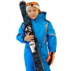 Combinaison kid Axel Degré7 bleu klein
