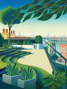 Sam Chivers, Fabric Magazine - London's Green spaces.