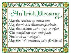 ♥ The Irish Blessing ♥