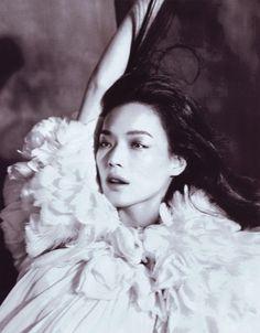 """""""Dream Girl"""". Shu Qi by Lachlan Bailey"""