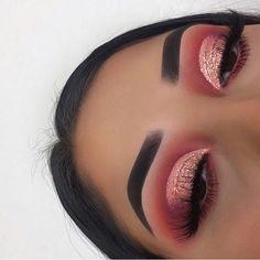 glam makeup Daily Makeup Pics And Videos o - makeup Makeup Eye Looks, Pretty Makeup, Skin Makeup, Eyeshadow Makeup, Eyeliner, Eyeshadows, Awesome Makeup, Gorgeous Makeup, Eyeshadow Guide
