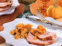 Kasseler mit Kürbis-Chutney ist ein Rezept mit frischen Zutaten aus der Kategorie Schwein. Probieren Sie dieses und weitere Rezepte von EAT SMARTER!