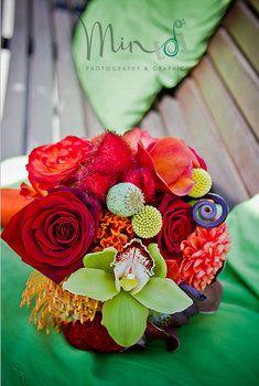 Stunning bright bouquet