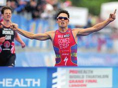 Javier Gómez Noya. Triathlon World Champion 2013. Just simply the Best