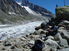 Alpine glacier. Oxford, University, College, Mountains, Nature, Travel, Naturaleza, Viajes, Destinations
