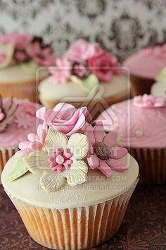 pinks and browns by ZaLita.deviantart.com on @deviantART