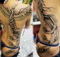 Realism Animal Tattoo by William Tattoo? Dragon Tattoo For Women, Tattoos For Women, Side Tattoos, Cool Tattoos, Tatoos, Tatoo Tiger, Phoenix Tattoo Feminine, World Tattoo, Tattoos Gallery