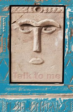 "Photography, ""Talk to me (Ancient sculpture found in Petra) - Limited Edition 10 of Petra, Talk To Me, Saatchi Art, Culture, Artist, Photography, Color, Photograph, Artists"