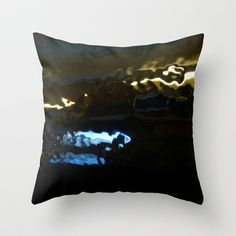 underwater Throw Pillow by agnes Trachet - $20.00