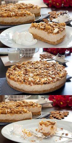 tarta-turrón-navidad-pecados-reposteria-1 Mousse, Cake Pops, Tiramisu, Cooking, Ethnic Recipes, Desserts, Food, Gastronomia, Recipes