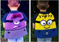 Ravelry: Movie Pack with Minions, Monsters and Mouse pattern by Heidi Yates