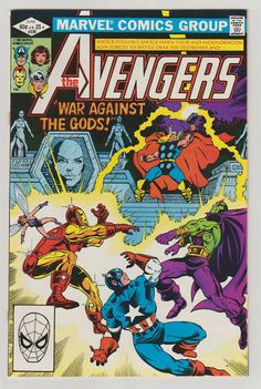 Avengers Vol 1 220 Bronze Age Comic Book.  by RubbersuitStudios #draxthedestroyer #avengers #comcbooks