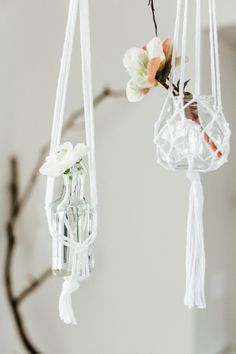 Boho hanging votives: http://www.stylemepretty.com/living/2016/06/08/unique-boho-baby-shower/ | Photographer: M&Him Photo & Video - http://www.mandhim.com/