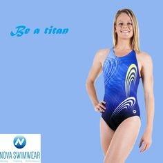 b04ad673f52a8 Ladies Katzoot Zipper Back Titan 1 Piece Chlorine Resistant Swimsuit