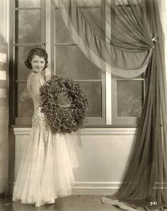 Vintage Hollywood Christmas -  Janet Gaynor 1929