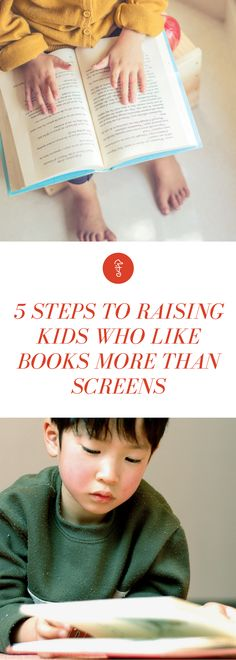 Screentime rules for kids are good — but these 5 positive parenting tips and tricks will get your kids reading in no time.
