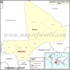 Where is Bamako
