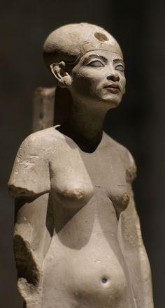 Berlin (standing/striding figure of Queen Nefertiti) Amarna Egypt