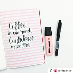 "1,709 Likes, 7 Comments - Bullet Journal features (@bujobeauties) on Instagram: ""I'm in love with this quote by @amizaomar ☕️ __________________________________________ Use…"""
