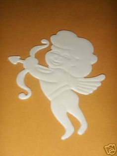 "6 Foam Board Cut Outs For Centerpiece 4"" Heart Cupid by Party Favors Plus. $3.99. 6 foam board cut outs shapes paintable cupid 5"" x 7"" for centerpieces"