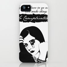 Avril Lavigne iPhone & iPod Case by freefallflow - $35.00