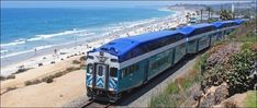 The COASTER commuter train provides breathtaking coastal scenery as it runs north and south through San Diego County, serving eight stations between  ...