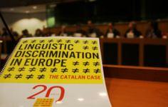 Els atacs al català arriben a la Comissió Europea - Vilaweb, Laura Ruiz Trullols, 30.01.2014. Un grup d'eurodiputats i la Plataforma per la Llengua van demanar ahir a la Comissió Europea que actués per evitar les discriminacions lingüístiques. Sol·licitaven que fossin considerades tan greus com les d'orientació sexual, religió i origen ètnic. Amb el president de l'intergrup sobre Minories i Llengües van exigir que la legislació comunitària adoptés 'eines per a combatre' els atacs a la…