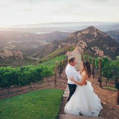A Jewish Mountainside Wedding at a Private Residence in Santa Monica, California | Luxury Estate Weddings & Events | Theknot.com