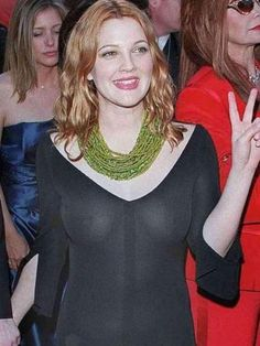 Young Drew Barrymore Tits Photograph In Miami 2010