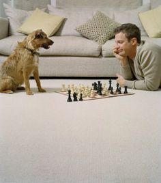 Playing Chess with my Dog