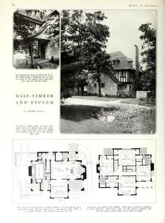 House and Garden's book of houses : containing ...