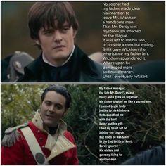 Mr. Darcy vs. Mr. Wickham Jane Austen Books, Jane Eyre, Zombie Movies, Scary Movies, Prejudice Quotes, Pride And Prejudice And Zombies, Sam Riley, Hemlock Grove, Pride And Prejudice