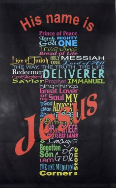His Name Is ~ Jesus...