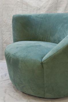 Vladimir Kagan Swivel Barrel Chair