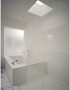 white bathroom from Toronto based Burdifilek