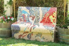 A Park Bench by Ofra Moran
