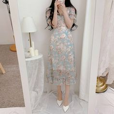 Korean Girl Fashion, Indie Fashion, Fashion Outfits, Classy Wear, Classy Outfits, Euphoria Fashion, Light Dress, Stylish Girl, Clothes For Women