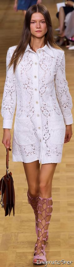 Chloé Spring Summer 2015 Ready-To-Wear